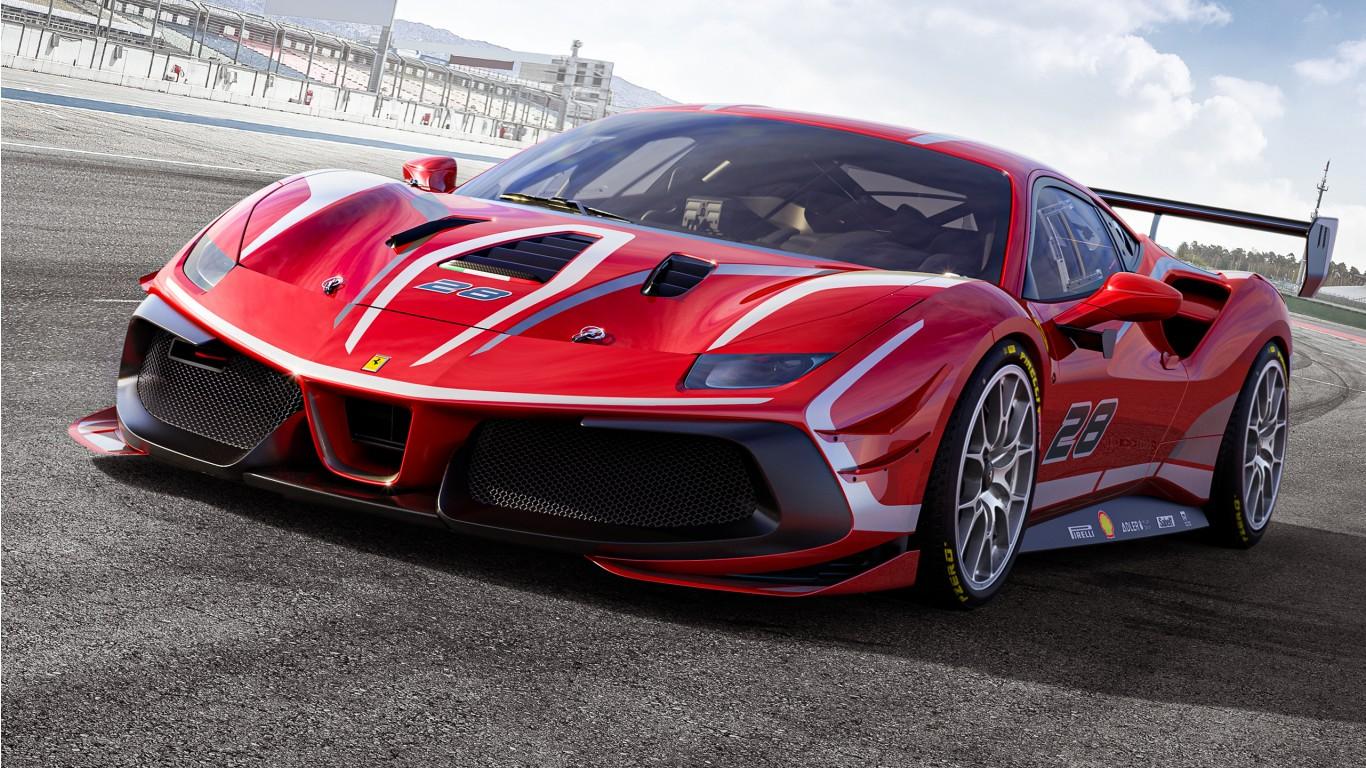 Ferrari 488 Challenge Evo 2020 2 Wallpaper HD Car Wallpapers 1366x768