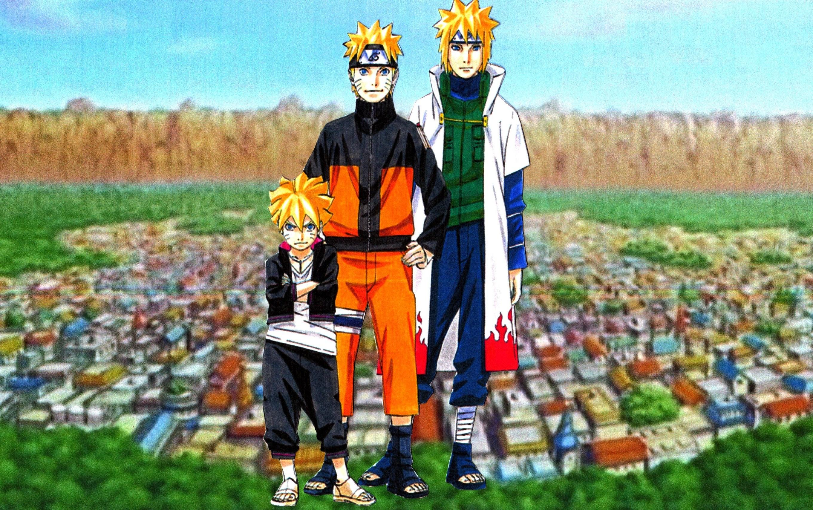 Minato Naruto Boruto Wallpaper 2 by weissdrum 2721x1707
