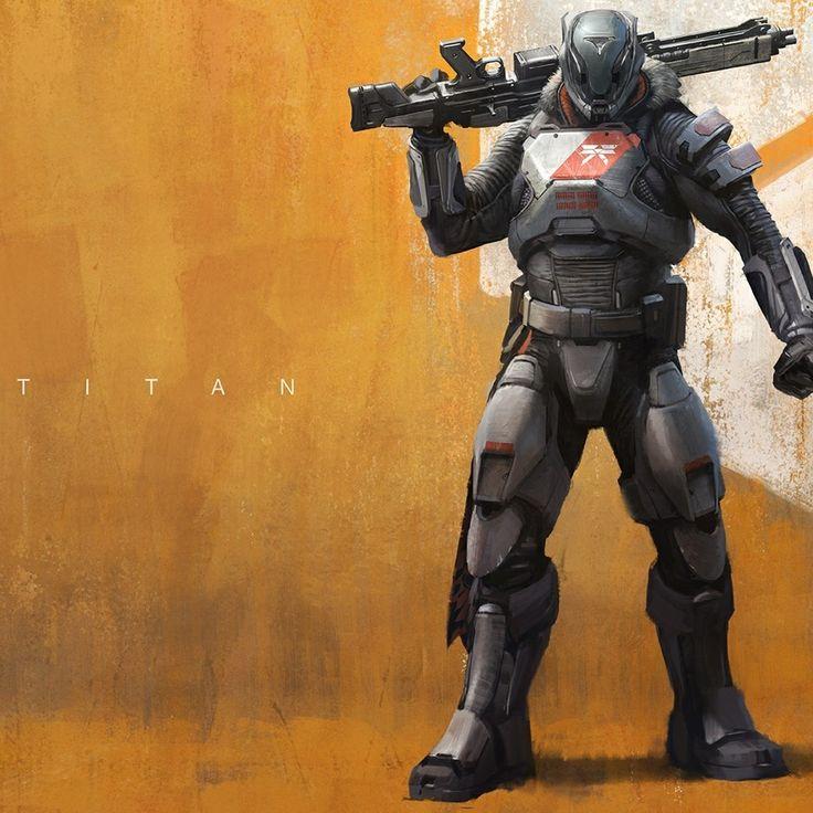 Destiny Titan Wallpaper - WallpaperSafari