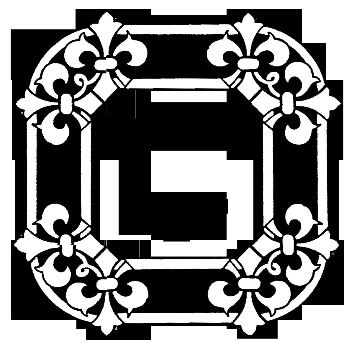 Phone Wallpaper Monogram: Letter C Monogram Wallpaper