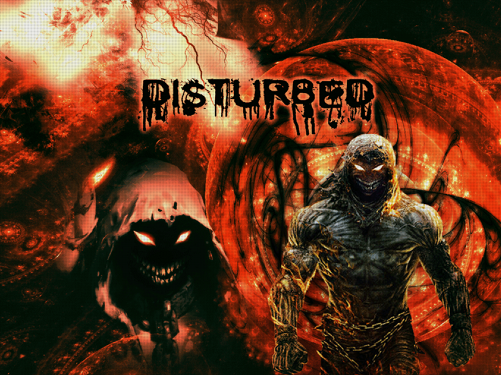 Entertainment DISTURBED Wallpapers   HD 1024x768
