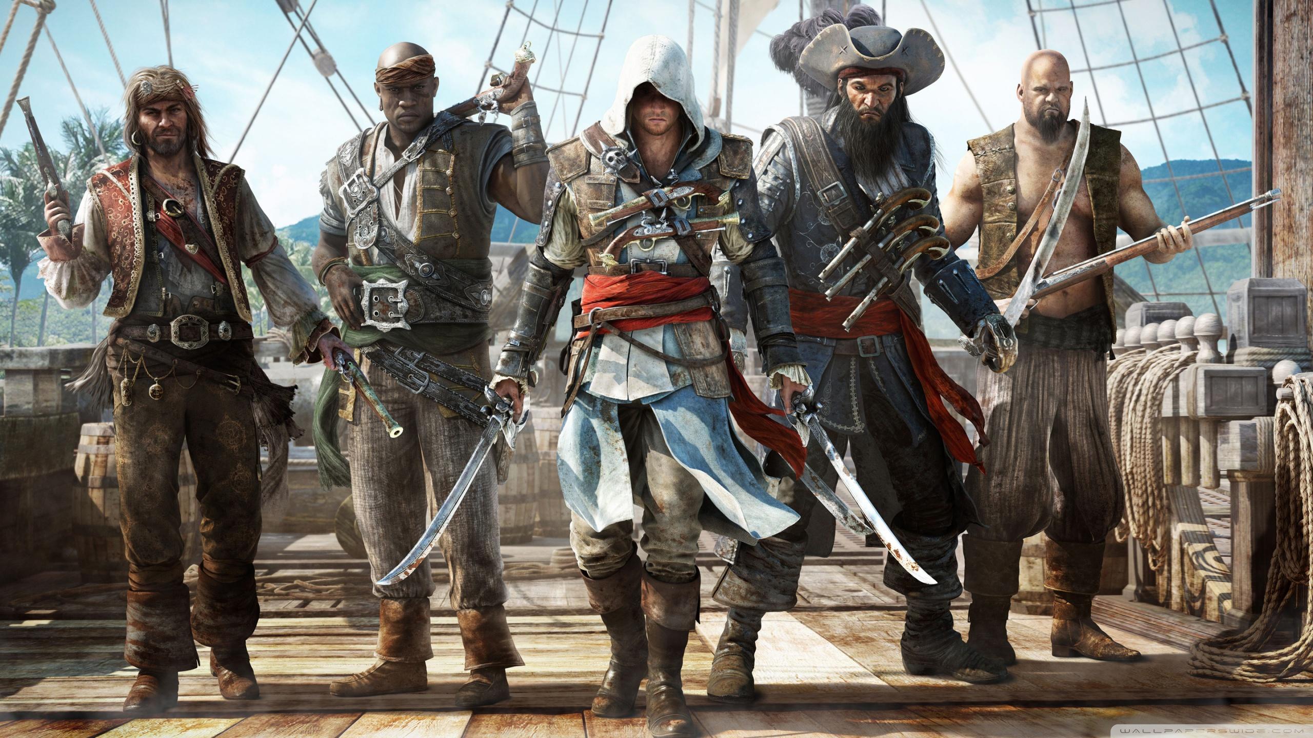 Assassins Creed IV Black Flag 4K HD Desktop Wallpaper for 4K 2560x1440