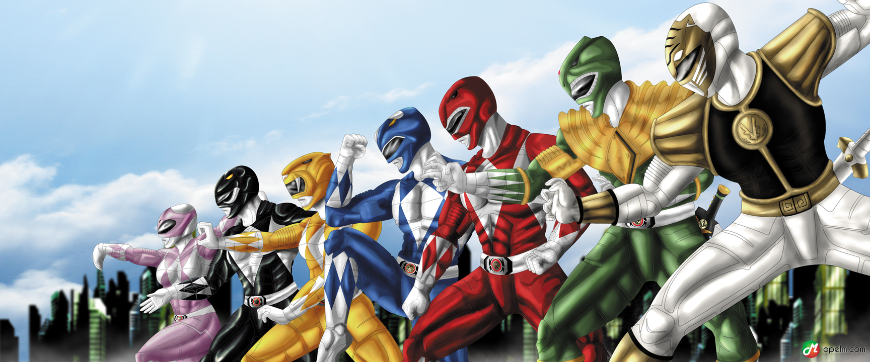 Power Ranger Wallpapers For Iphone For Wallpaper   Mighty 1728x720