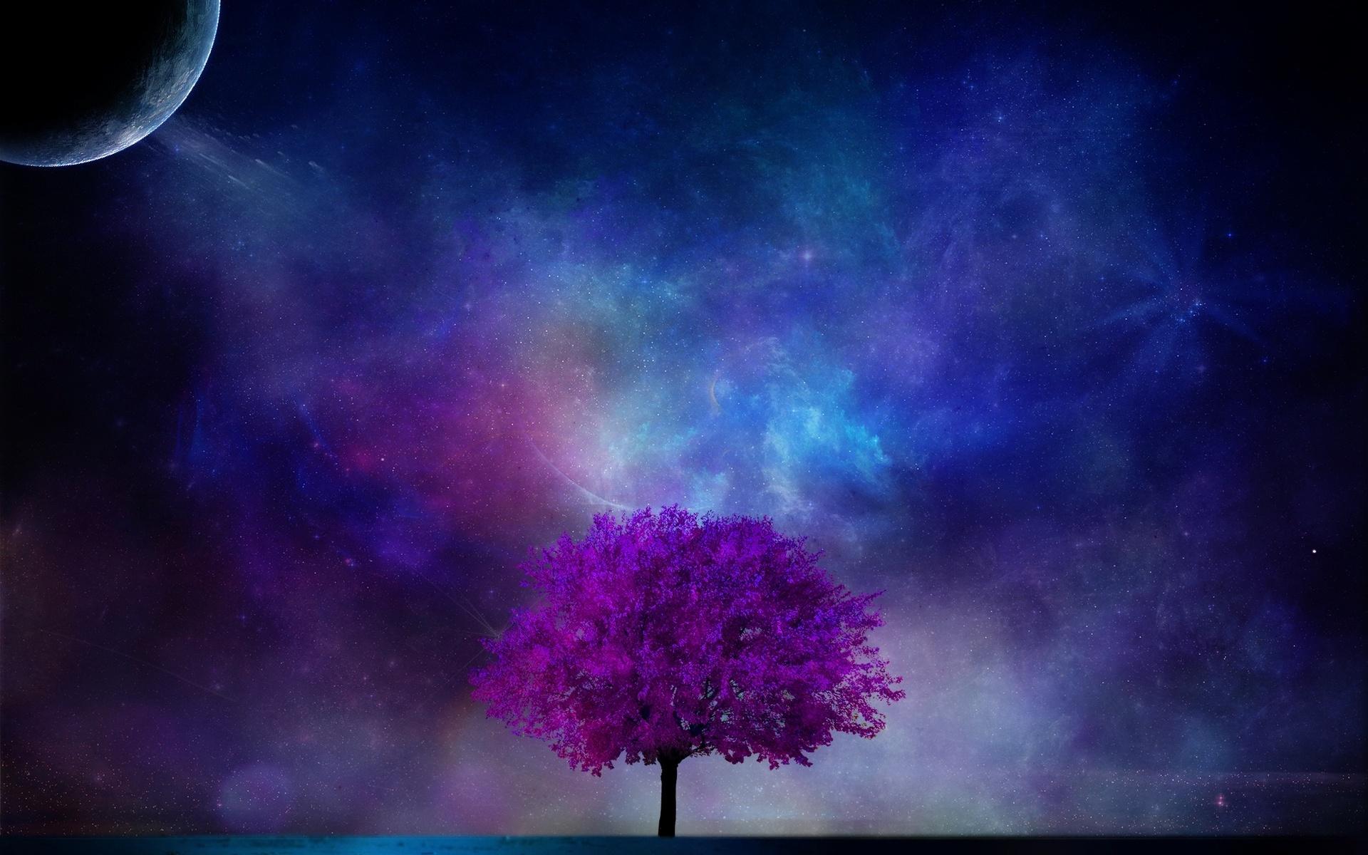 Вселенная Дерево  № 753457  скачать