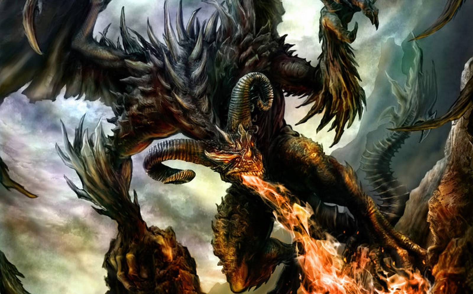 Epic Dragon Wallpaper on samsung galaxy wallpaper