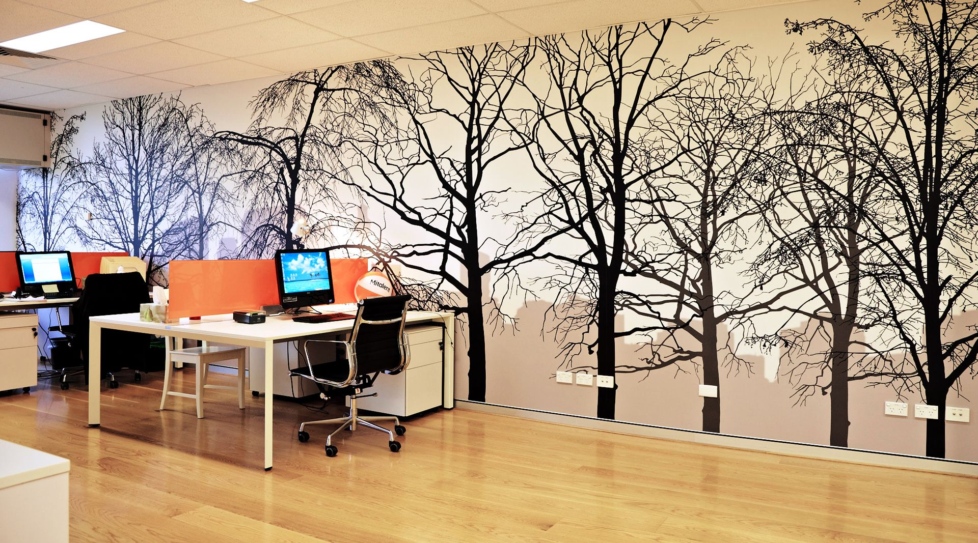 Free Download Forest Home Office 1080p Hd Wallpaper Murals Poch In
