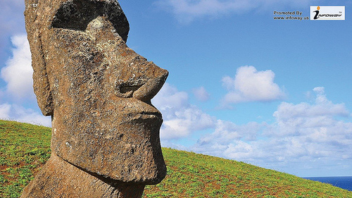 Easter island wallpaper hd Flickr   Photo Sharing 500x281