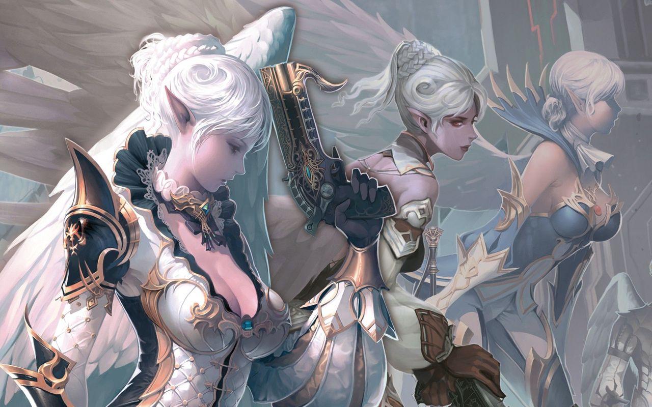 Elf warriors wallpaper 17515 1280x800