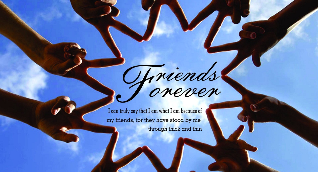 Friends Forever HD Wallpapers WeNeedFun 1313x711