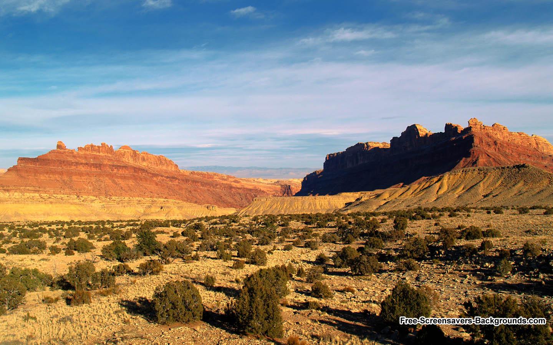 Road Sunset Wallpaper Desert Background Pict...
