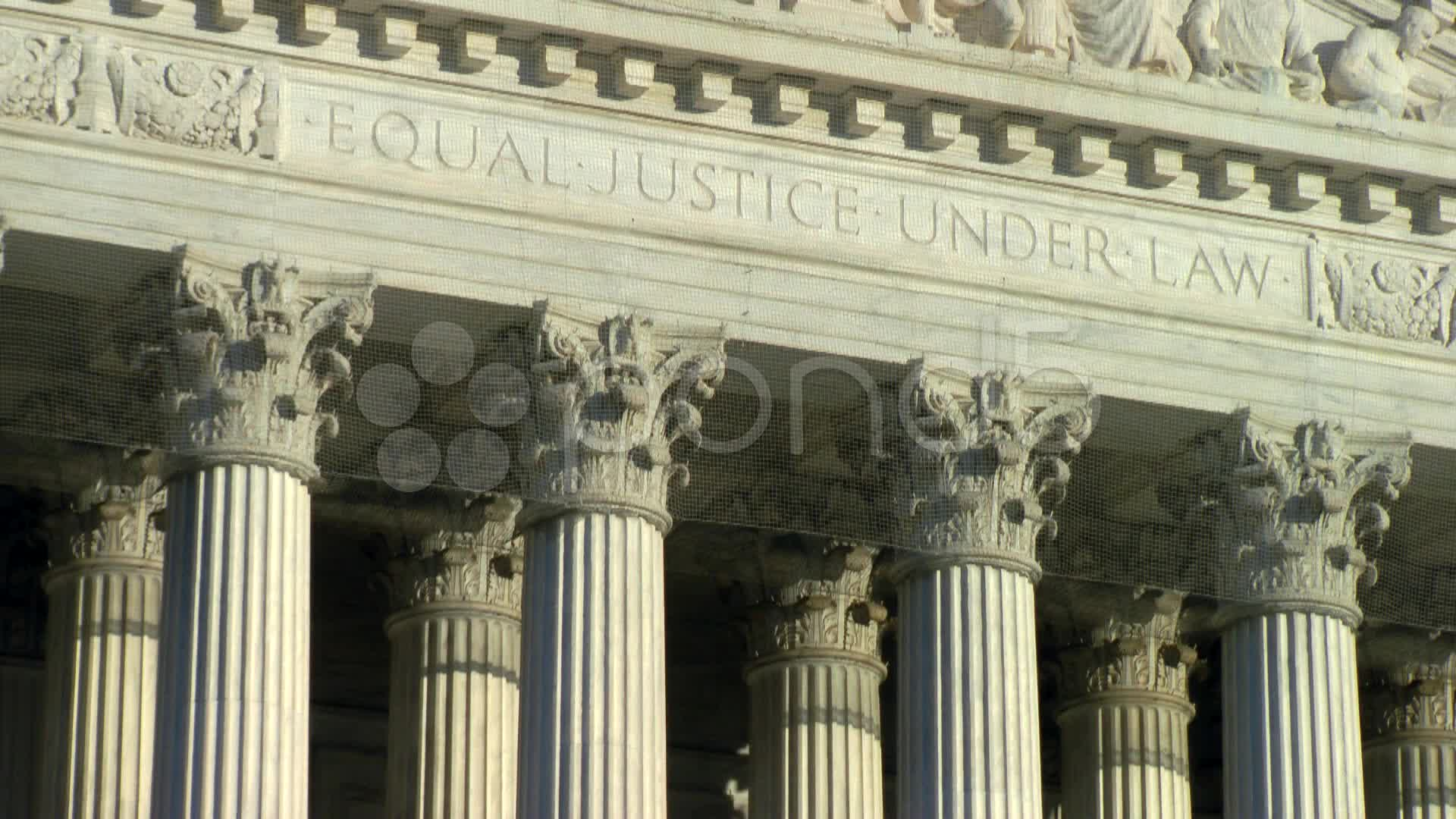 US Supreme Court   Equal Justice Under Law Footage 1920x1080