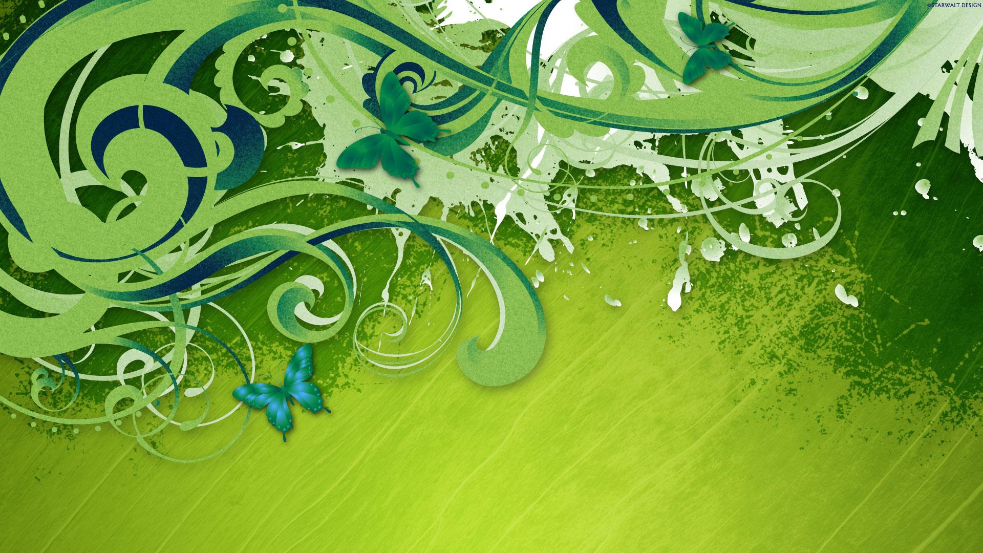 vector green wallpapers walls resolutions 1920x1080 1920x1080