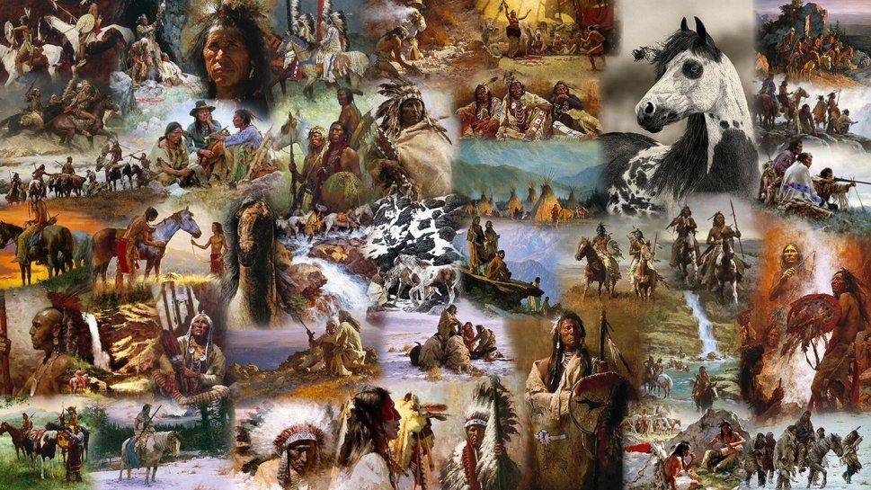 nativi americani File vettoriale   ForWallpapercom 969x545
