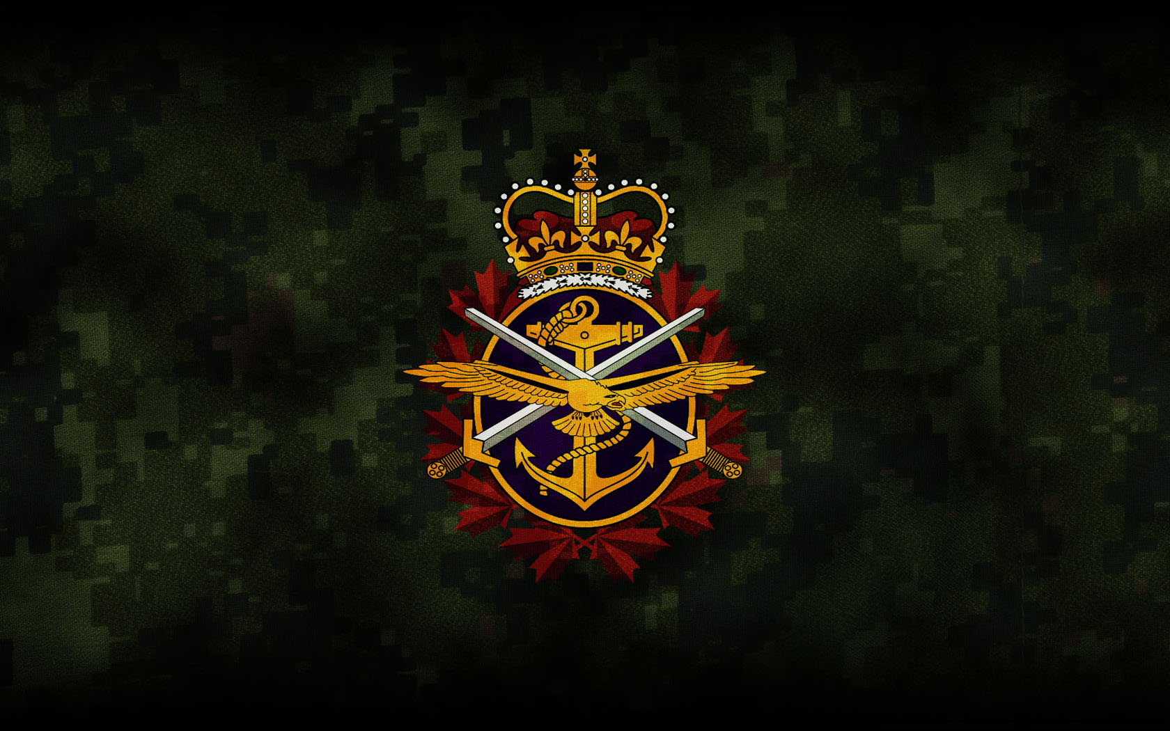 Showing Gallery For Canadian Army Flag Wallpaper 1680x1050