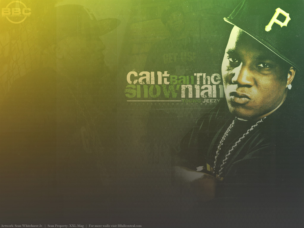 Young Jeezy HD 2 Rap Wallpapers 1024x768