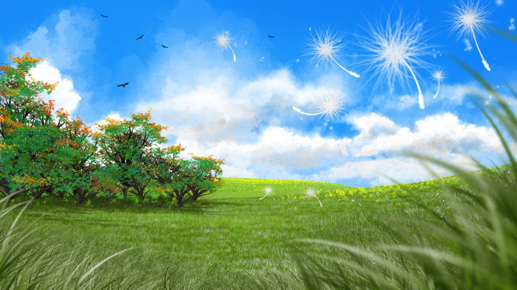 Large Spring Desktop Backgrounds Landscapes Nature 1024x576