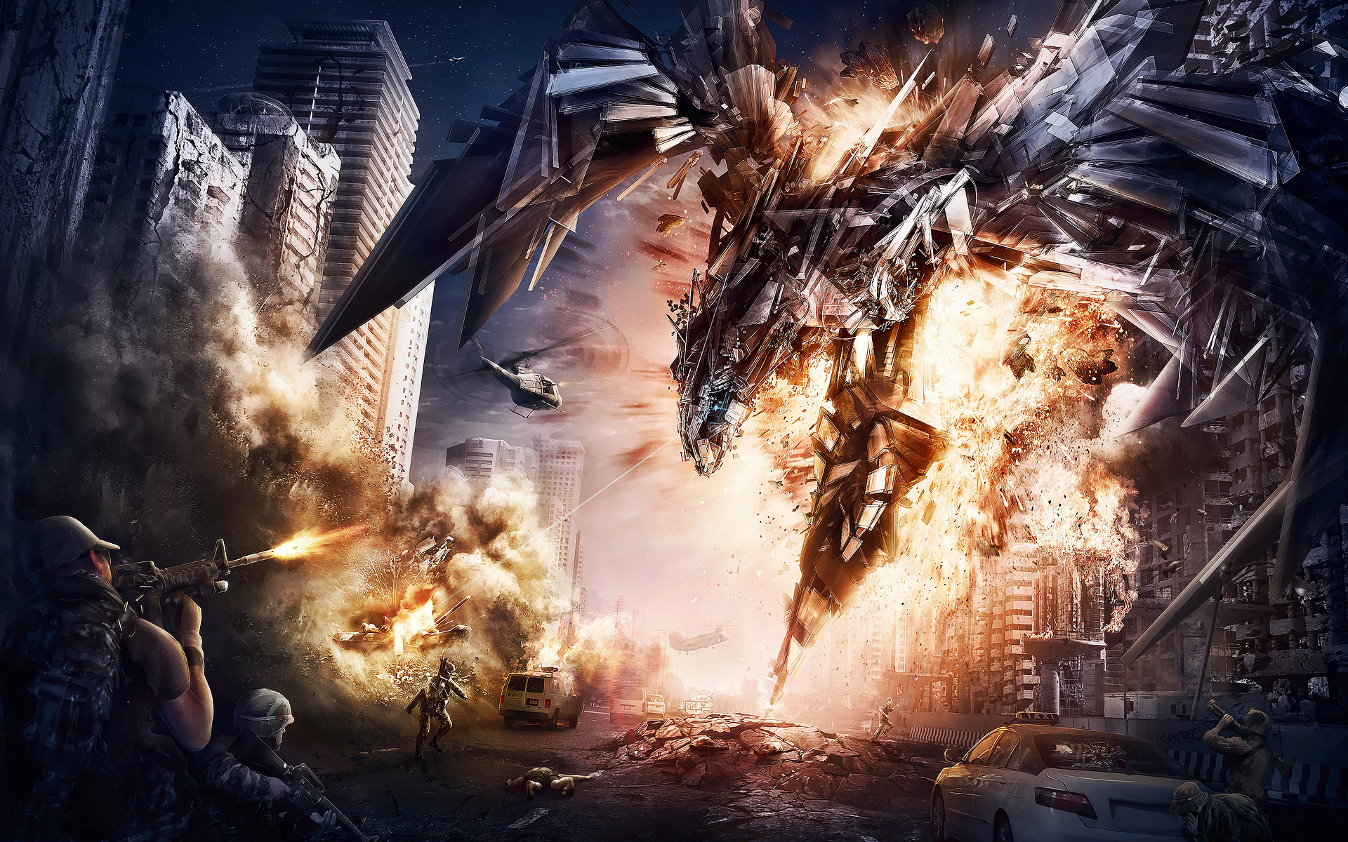 47 Transformers 4 Wallpapers On Wallpapersafari