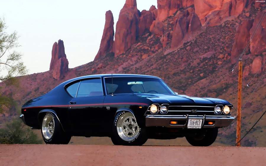 Chevrolet Chevelle SS 69 by HAYW1R3 900x563