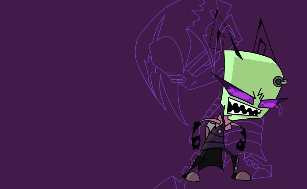 Good Invader Zim Awesome Tak Wallpaper Invader Zim Photo 22845973 1000x615