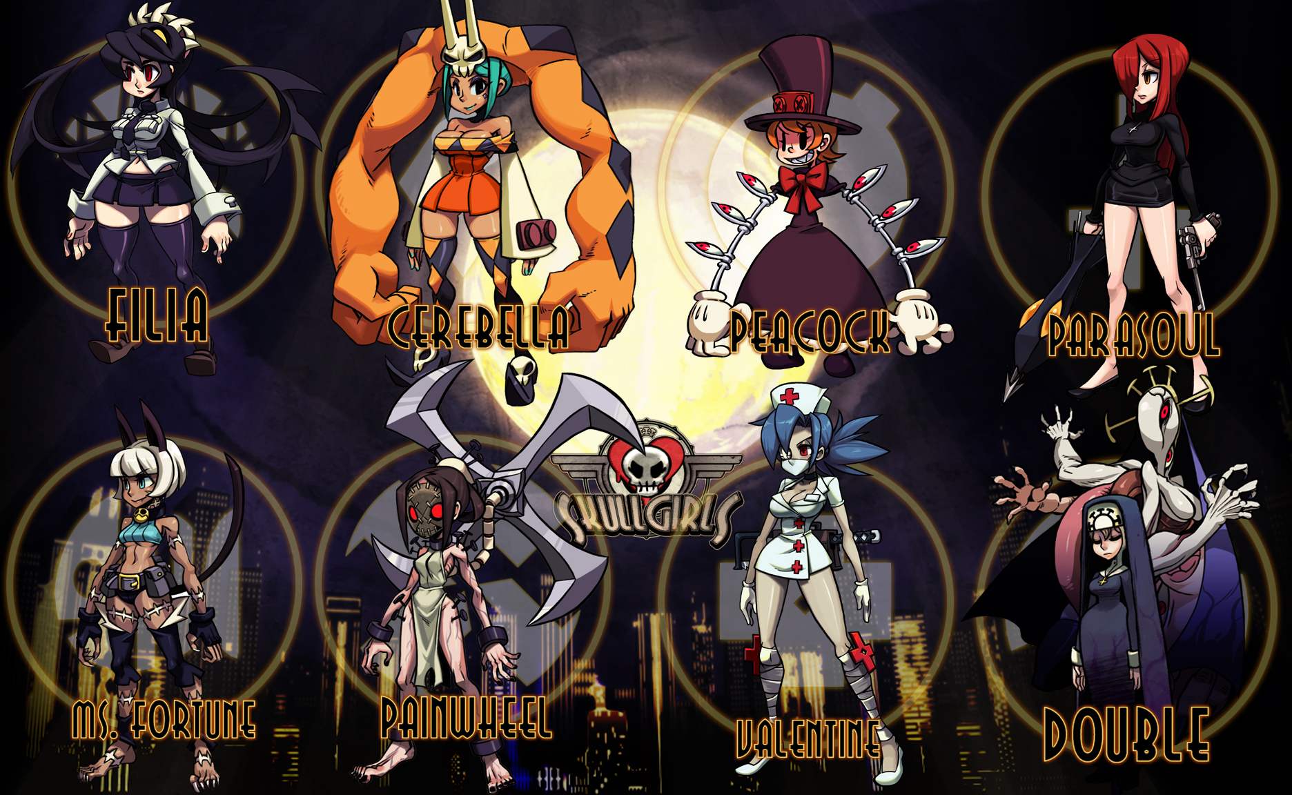 Skullgirls coming to PC on August 22nd GearNuke 1872x1152