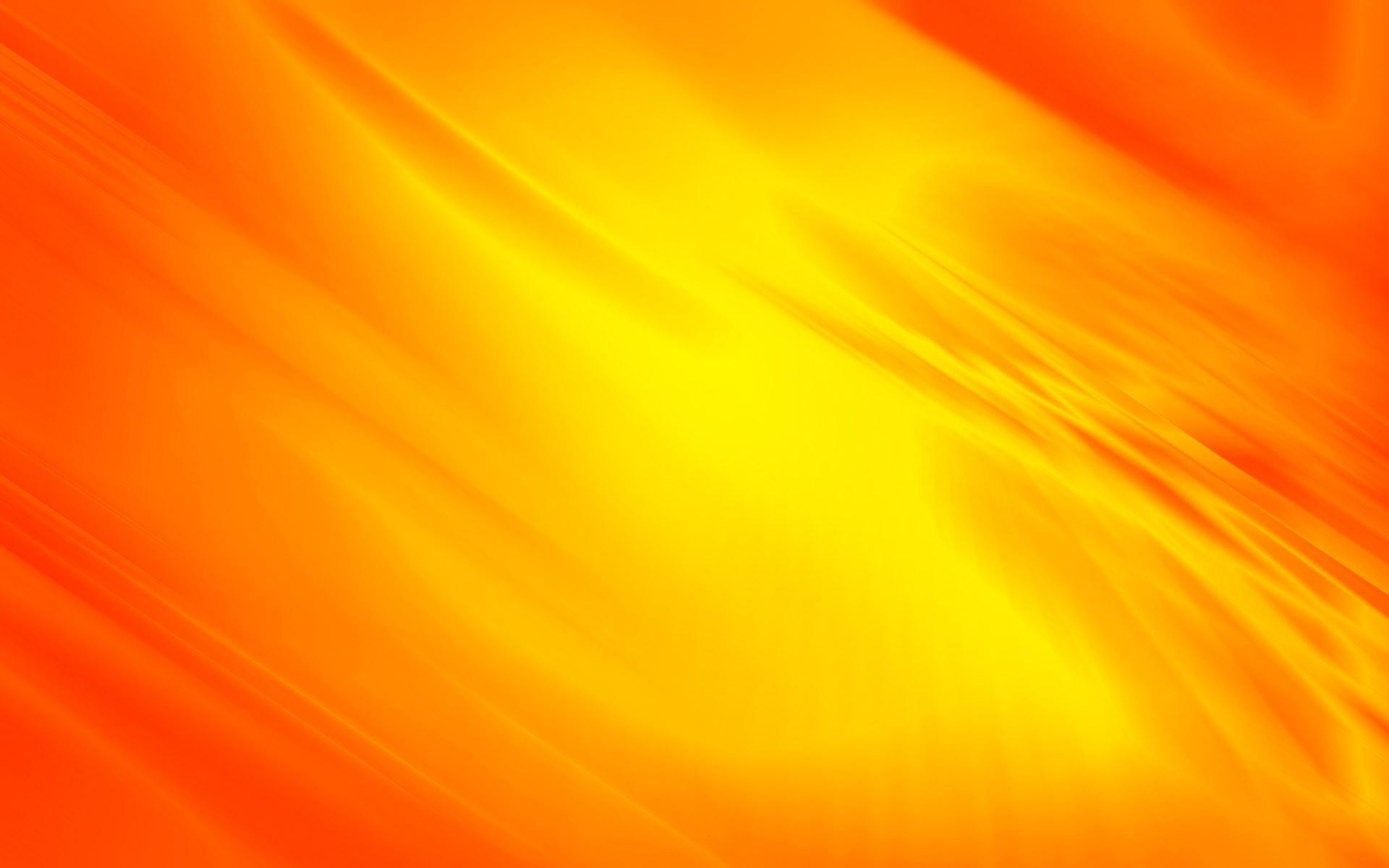 Yellow orange flowing curves wallpaper 7292 1920x1200