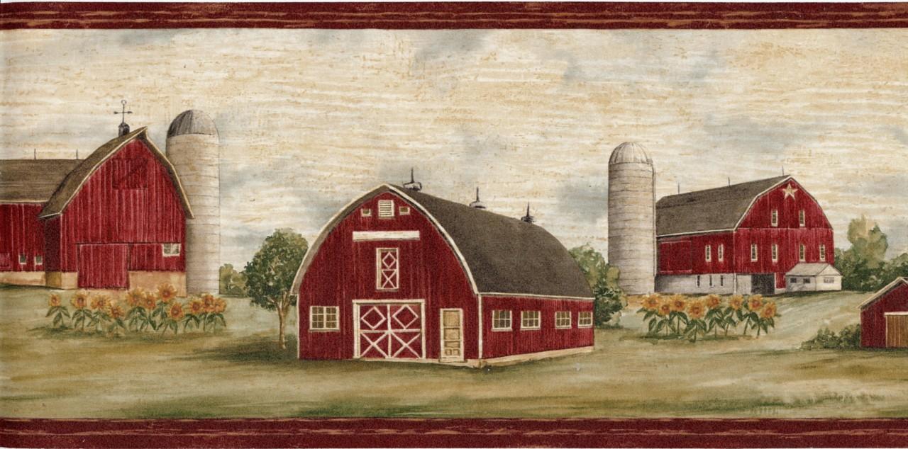 Country Barn Wallpaper Wallpapersafari