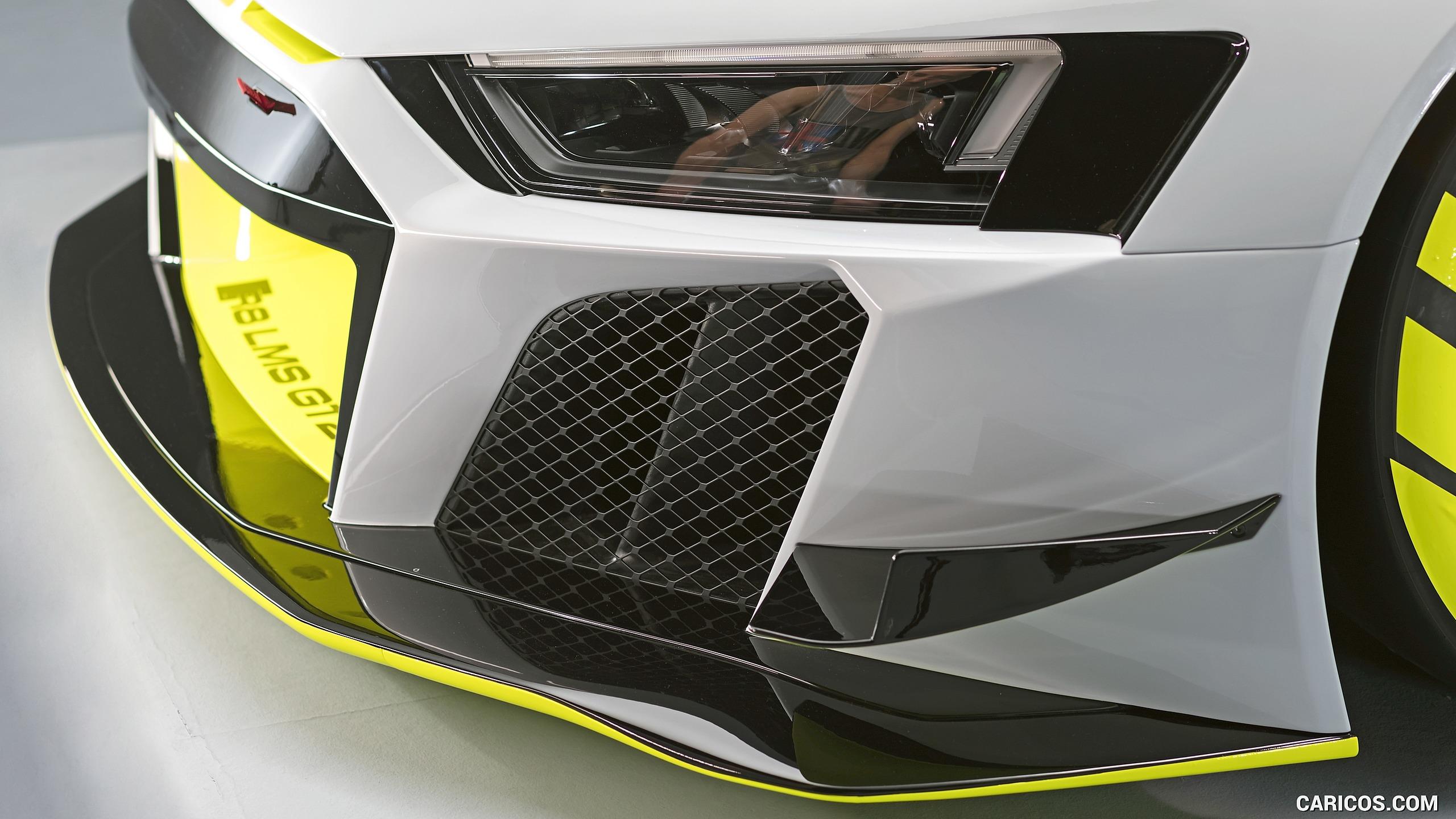 2020 Audi R8 LMS GT2   Headlight HD Wallpaper 8 2560x1440