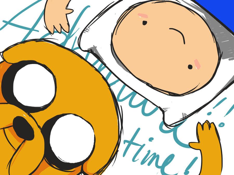 Finn and Jake by LaGuialPana 900x675