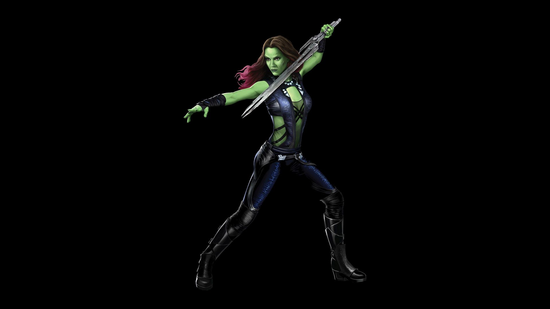 Gamora   Guardians of the Galaxy wallpaper 34430 1920x1080