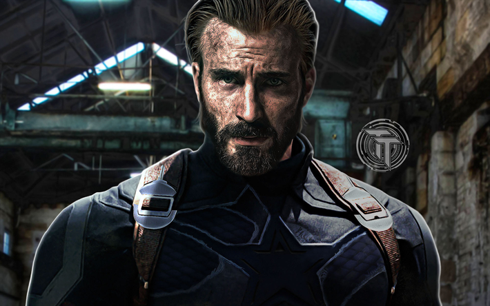 Download wallpapers Captain America 2018 movie 710x444