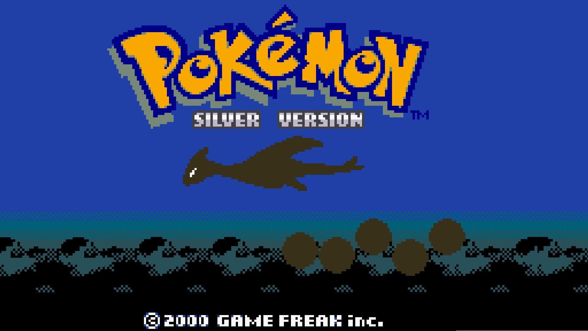 Pokemon lugia silver wallpaper 1920x1080