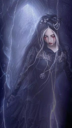 Wiccan Lightning Witch LWP for Android Adult AppsBang 288x512