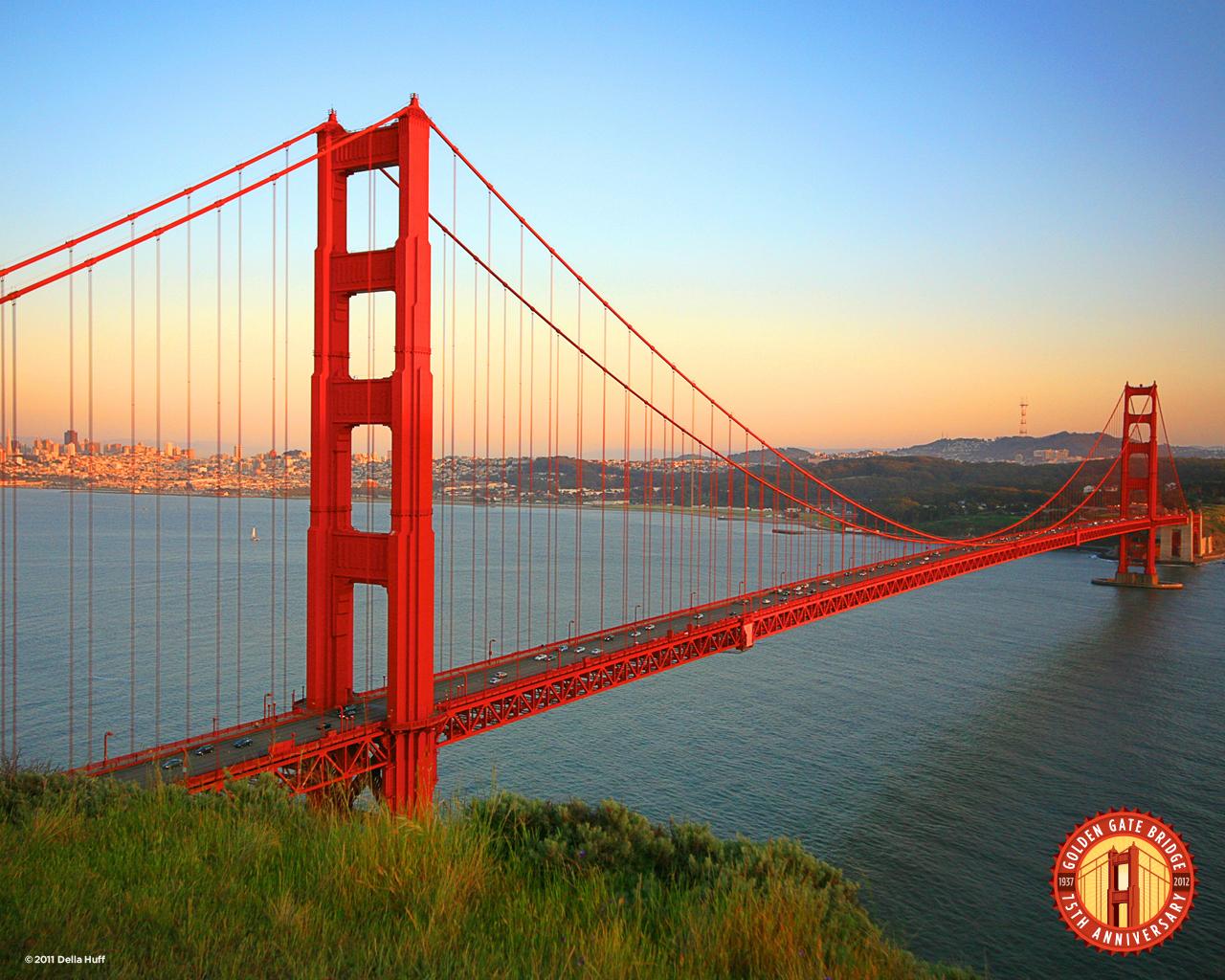 Free Download Download Wallpaper Golden Gate Bridge 75th Anniversary 1280x1024 For Your Desktop Mobile Tablet Explore 73 Golden Gate Bridge Wallpaper Golden Wallpapers Golden Gate Bridge Wallpaper Hd Bing