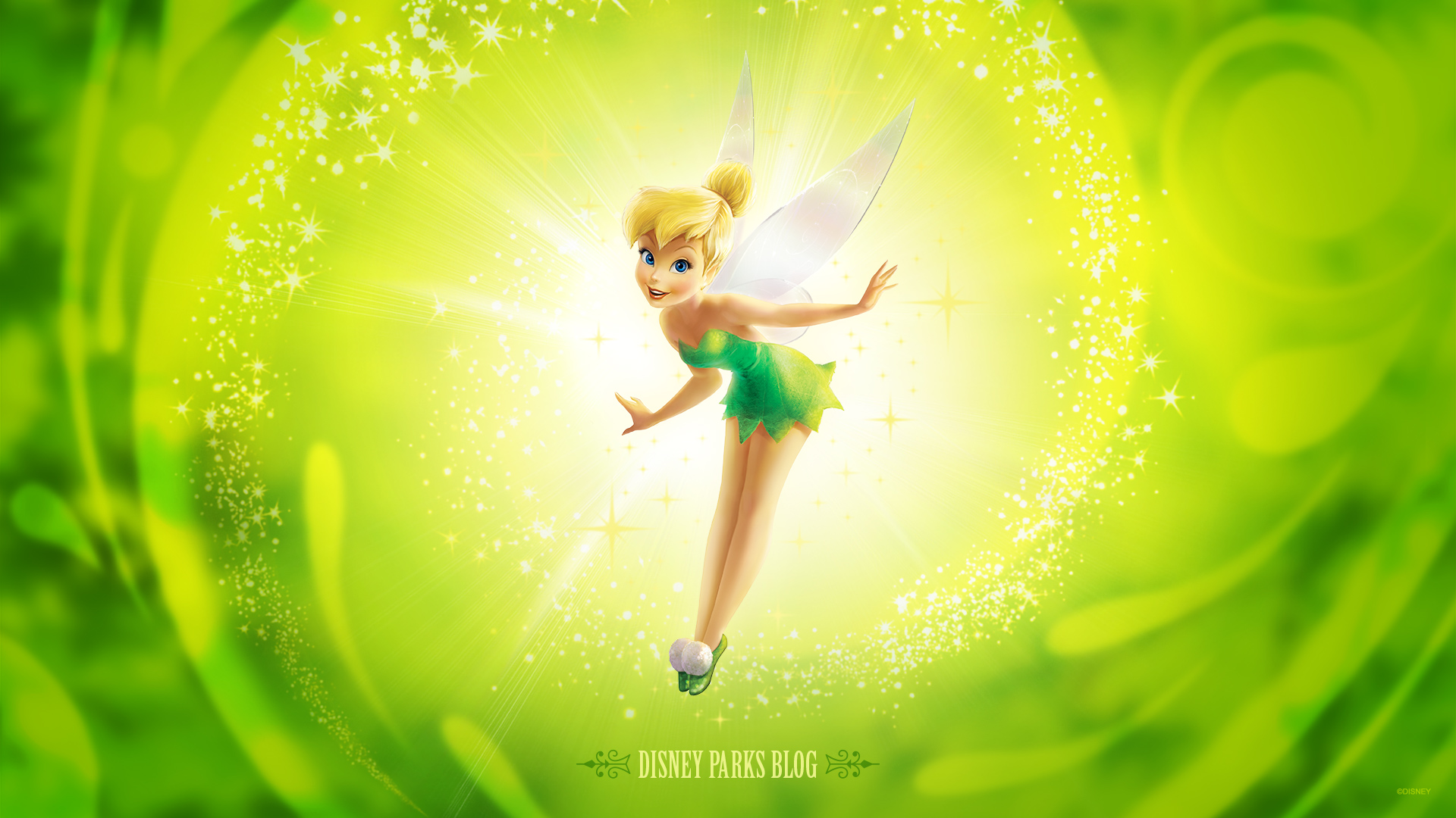 Tinker Bell Wallpaper Inspired by Tinker Bell Half Marathon Weekend at 1920x1080