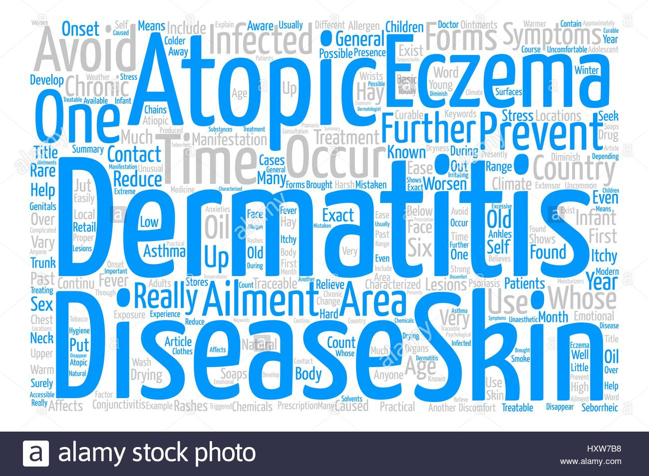 Eczema Or Atopic Dermatitis Anyone text background word cloud 1300x954