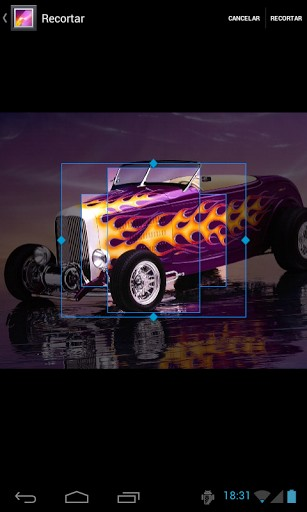 Hot Rod HD Wallpapers App for Android 307x512