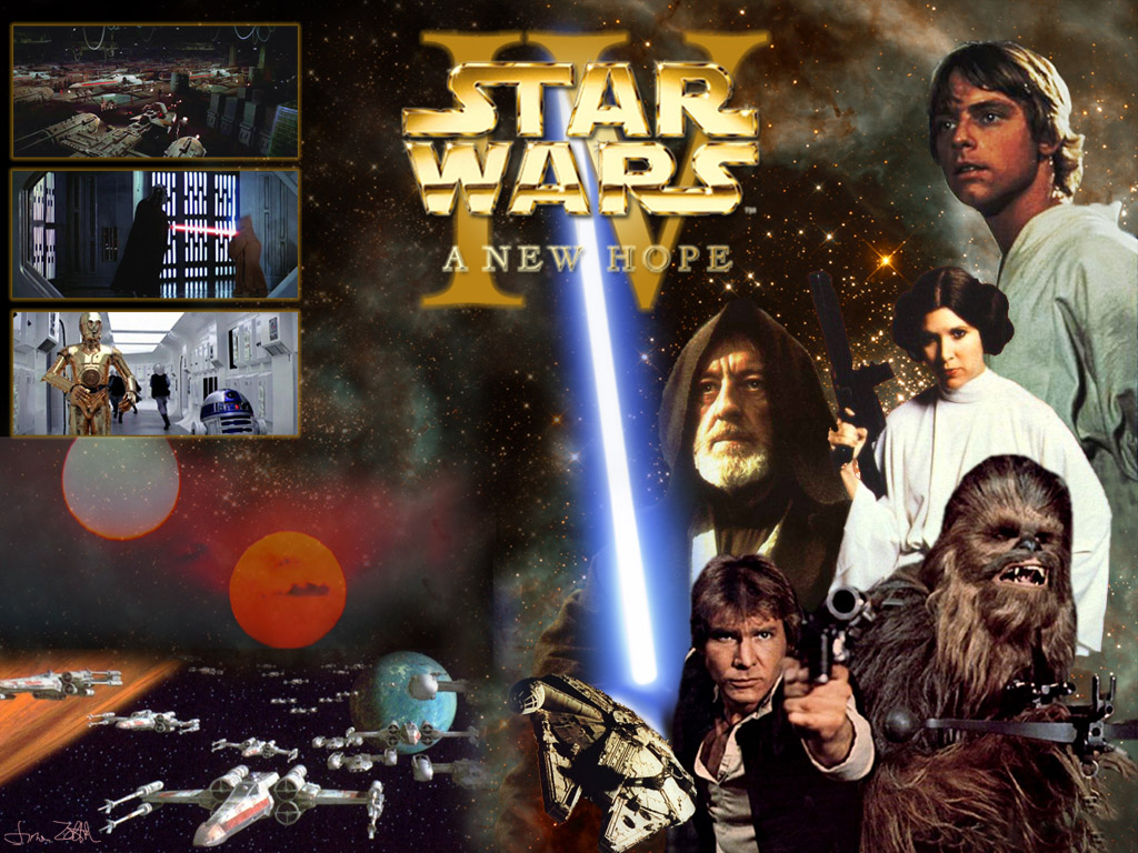 49 Star Wars Episode 4 Wallpaper On Wallpapersafari