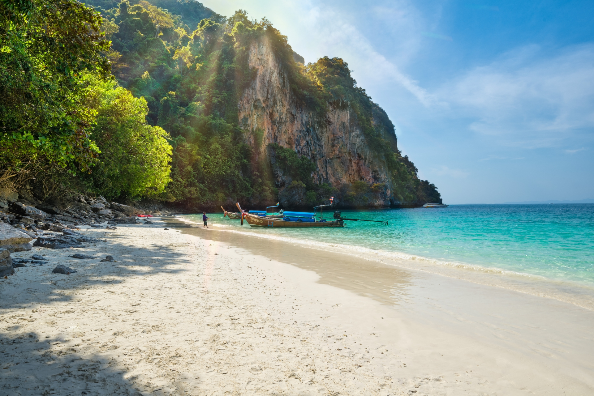 Monkey Beach Phi Phi Island Background   High quality Backgrounds 1920x1281