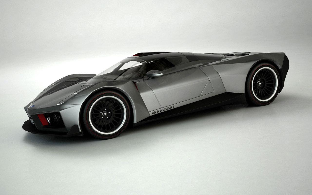 Sports Cars MARUSSIA SUPER CAR