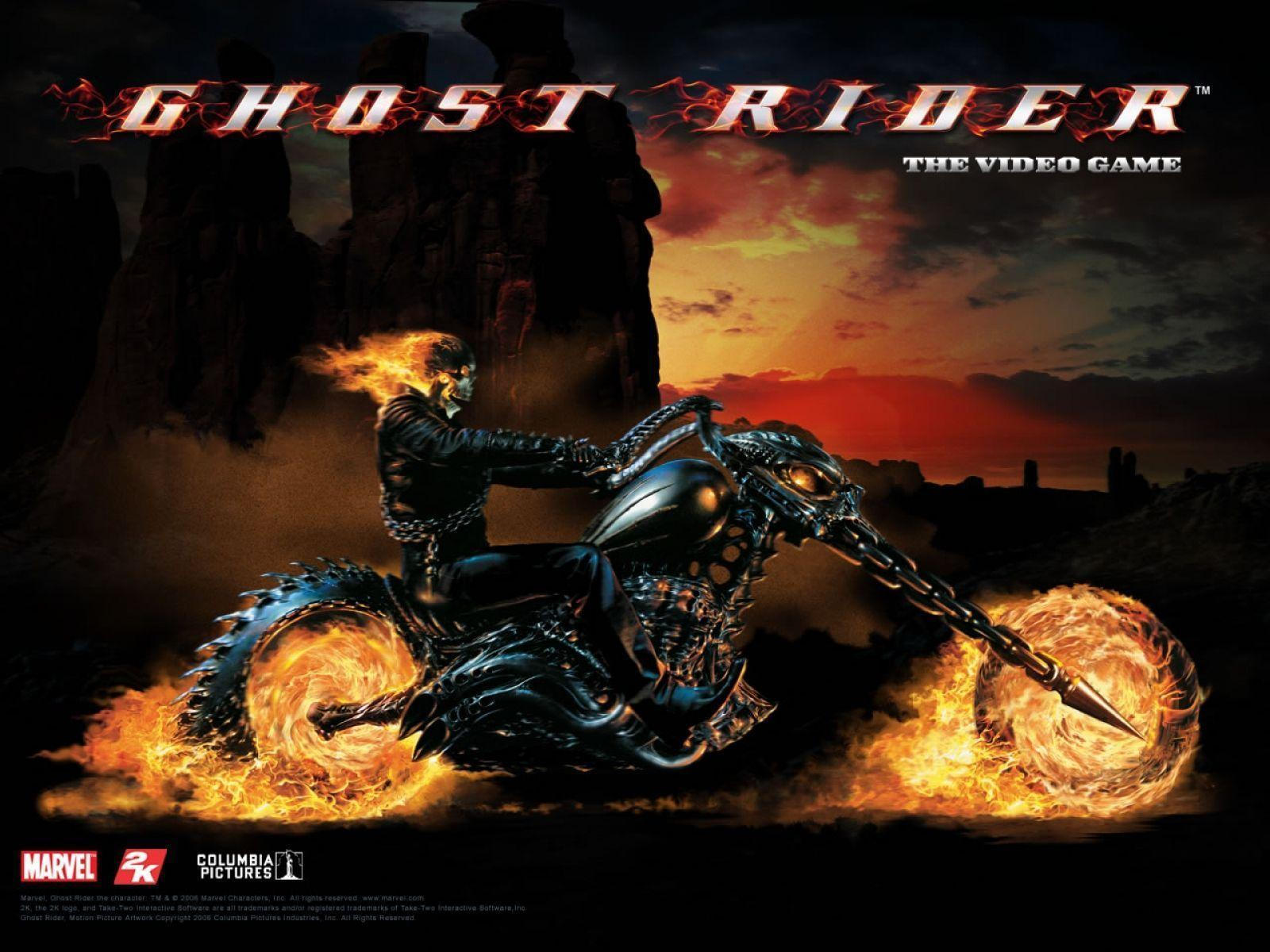 Ghost Rider Bike Wallpapers 1600x1200