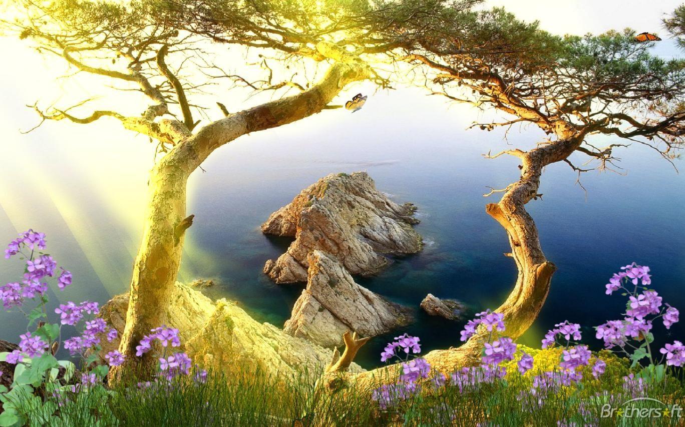 Wallpaper download moving - Beautiful Landscape Animated Wallpaper Beautiful Landscape Animated