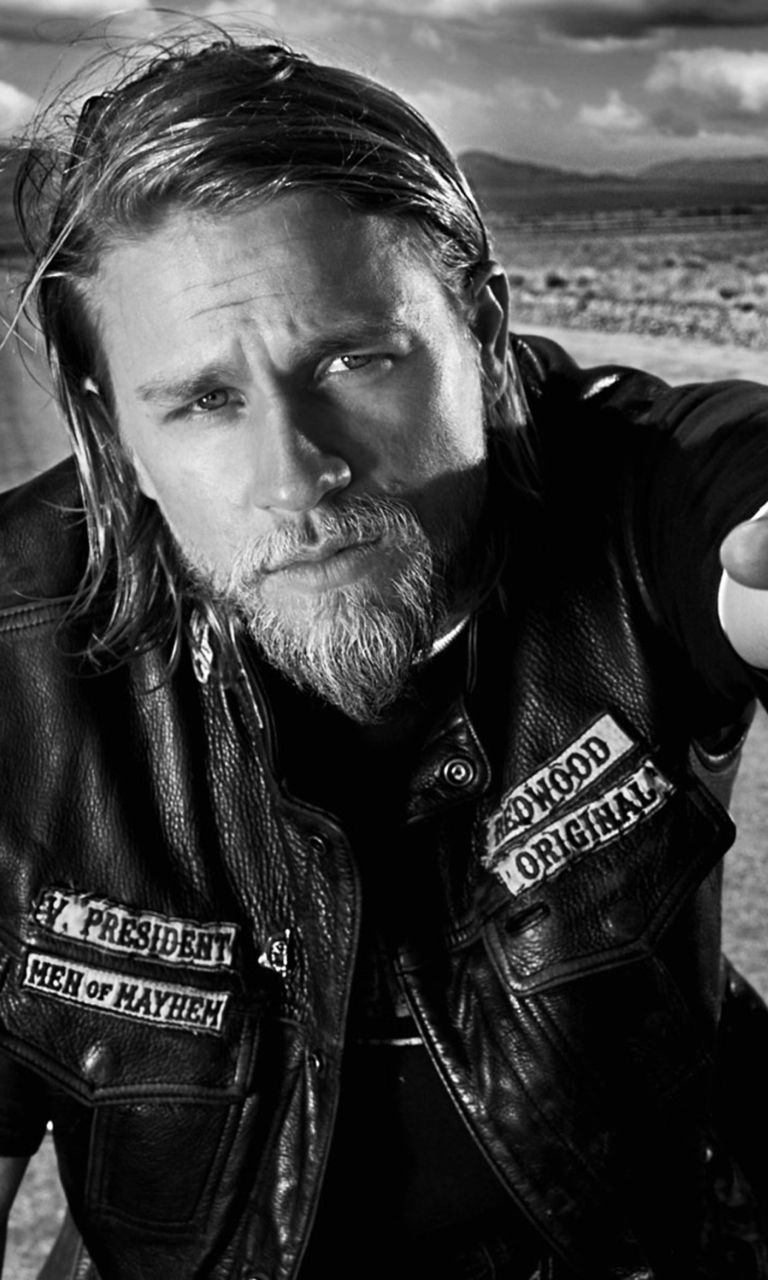 Free Download Jax Teller Sons Of Anarchy Wallpaper For 768x1280