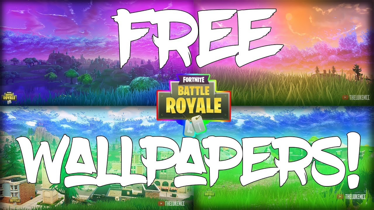 download FREE FORTNITE BATTLE ROYALE WALLPAPER PACK [ HD 1280x720