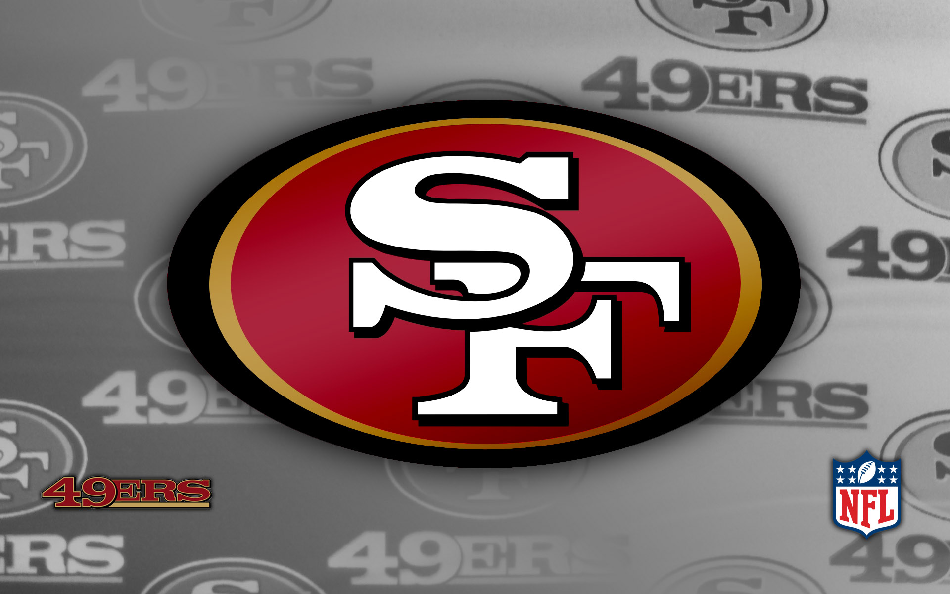 forty niners francisco wallpaper football sports 1920x1200