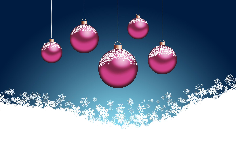 Pink Christmas Tree Wallpaper 2880x1800