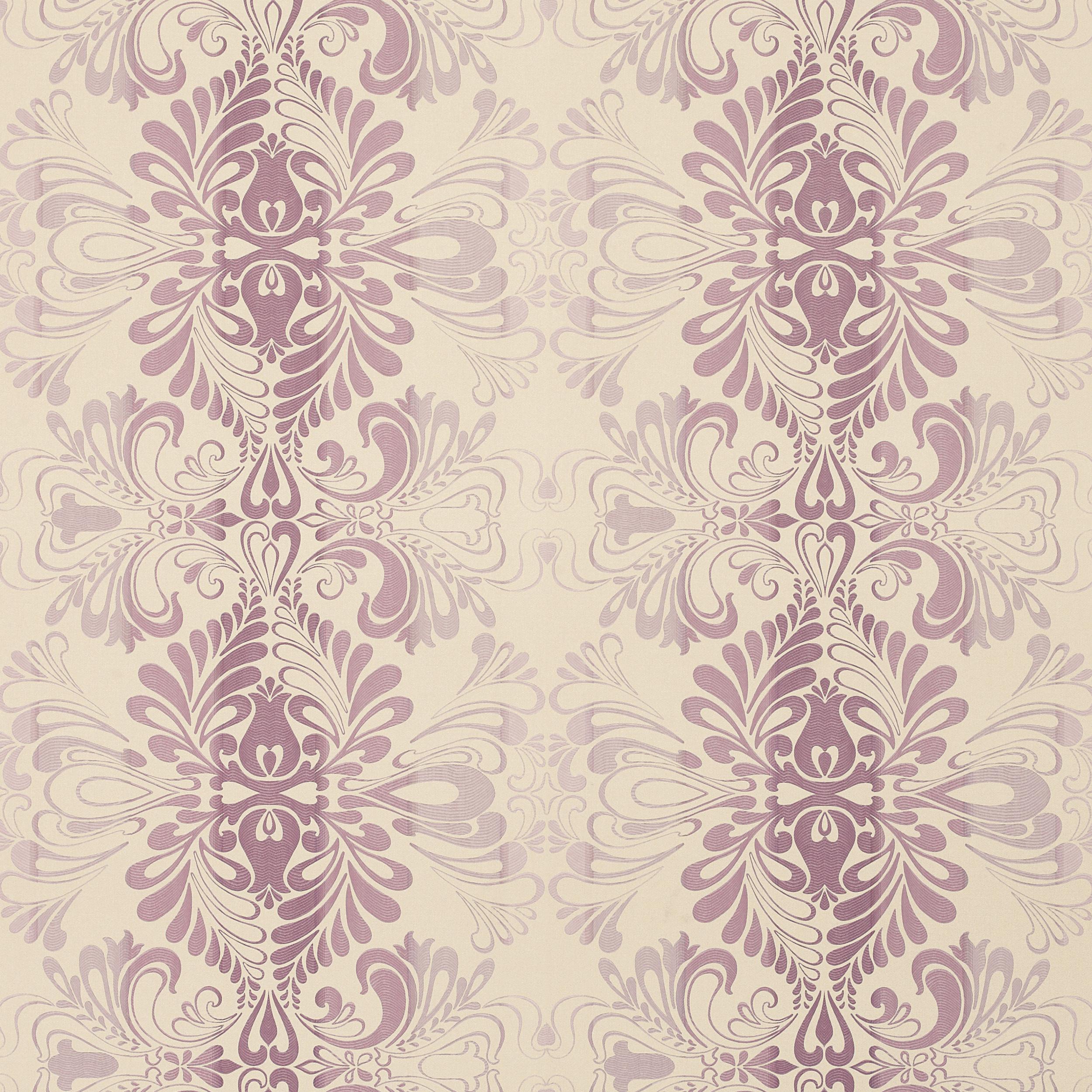 Fitzroy Amethyst Damask Wallpaper 2500x2500