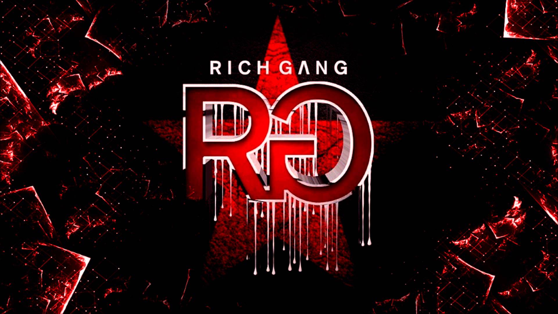 Rich Gang Logo Wallpaper Rich gang album cover 1920x1080