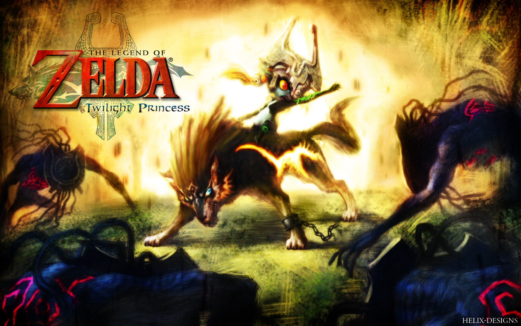 Twilight Princess Wallpaper 1680x1050 Twilight Princess The Legend 1680x1050