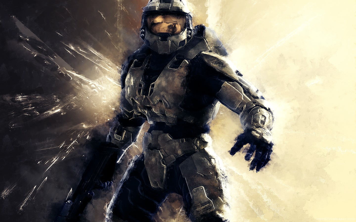 halo wallpaper background bungie xbox microsoft fps first person 1440x900