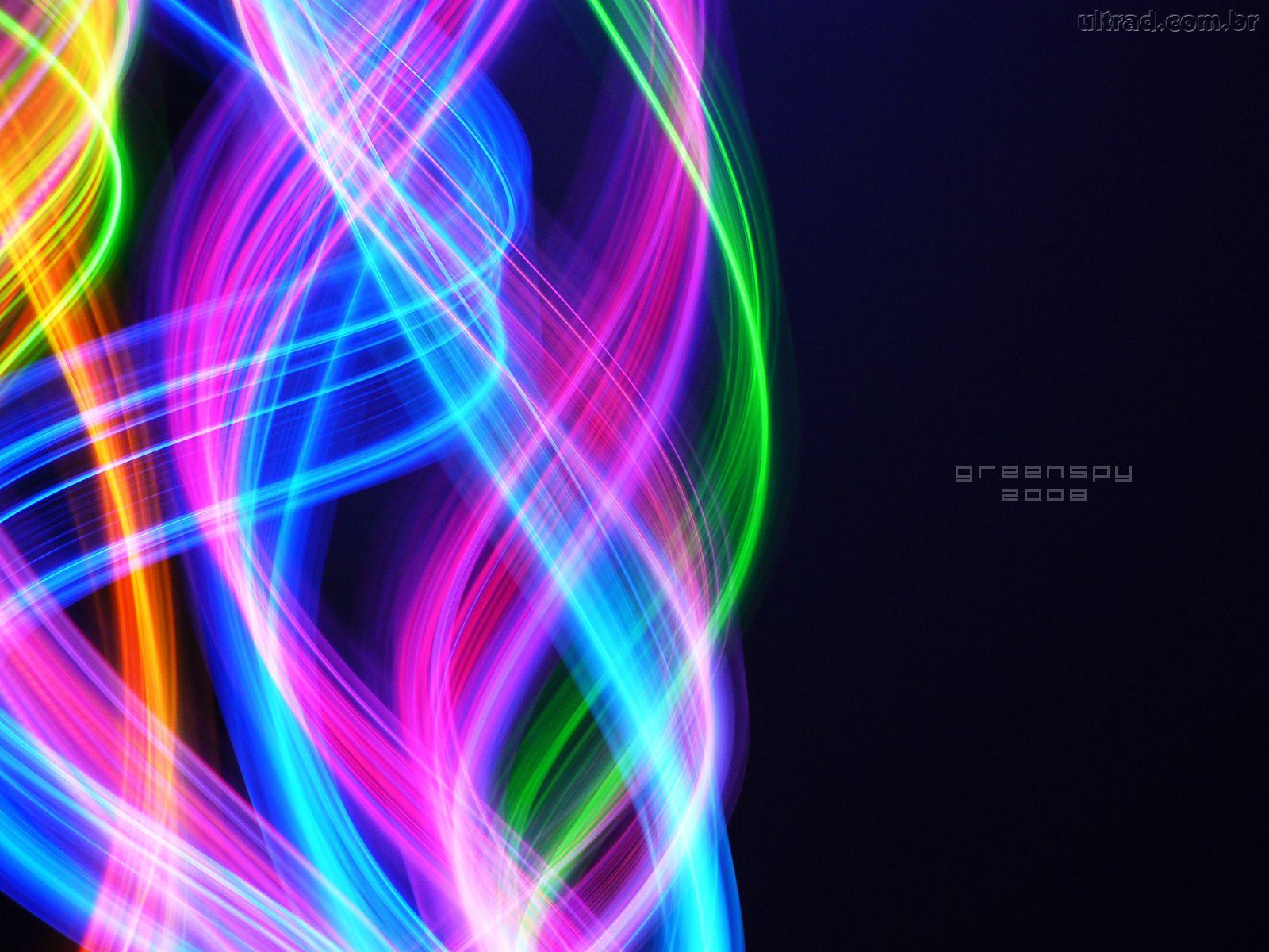 Papel de Parede Turbilho Colorido 1600x1200